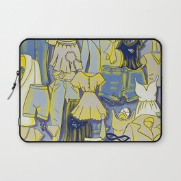 YELLOW CLOTHES Laptop Sleeve