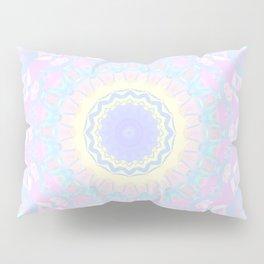 Pastel Triangles Kaleidoscope Pillow Sham