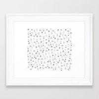 cacti Framed Art Prints featuring cacti  by Magdalina Dianova