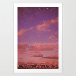Dreamy Dusk Art Print