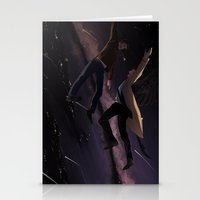 destiel Stationery Cards featuring Supernatural - Destiel by arttano