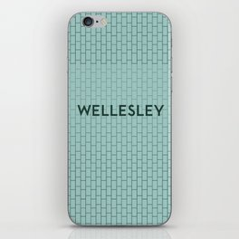 WELLESLEY | Subway Station iPhone Skin