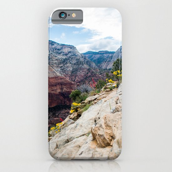 Zion National Park Wildflowers iPhone & iPod Case