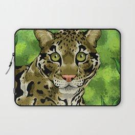 Clouded Leopard Laptop Sleeve
