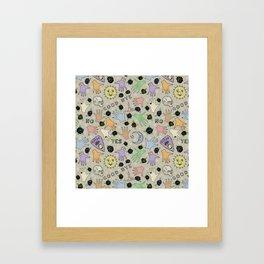 Seance-Shenanigans Framed Art Print