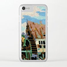 Found Tapestry Mill Clear iPhone Case