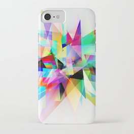 Colorful 3 iPhone Case