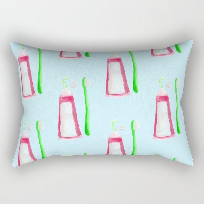 dentist pattern Rectangular Pillow