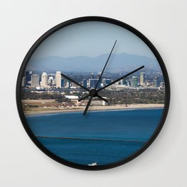 Point Loma Skyline Wall Clock