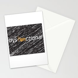 Fun in Dysfunctional Stationery Cards
