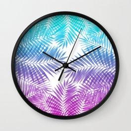 Malibu Palms Wall Clock