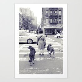 don't walkies... Art Print