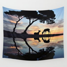 Nature reflection Wall Tapestry