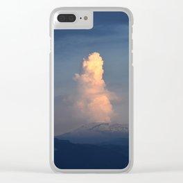Nevado del Ruiz volcano Clear iPhone Case