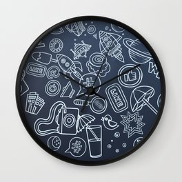 Internet Wall Clock