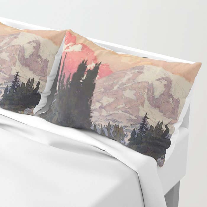 Storms over Keiisino Pillow Sham