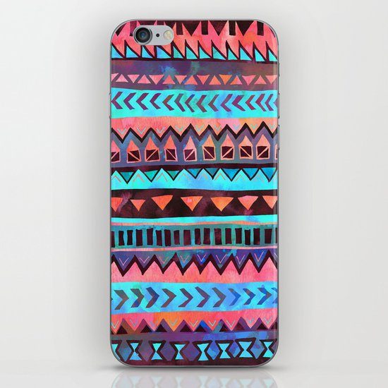 PATTERN {Tribal Stripe- Aqua} iPhone & iPod Skin