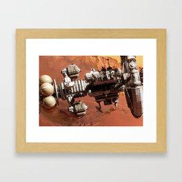 Kronos 1 at Mars II Framed Art Print