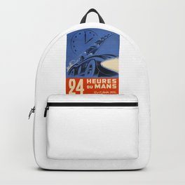 1954 Le Mans poster, Race poster, car poster, Backpack