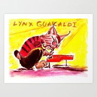 Lynx Guaraldi  Art Print