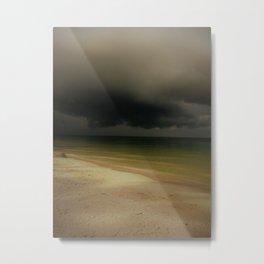 Storm Comin In Metal Print