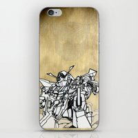 transformer iPhone & iPod Skins featuring Transformer by Dave Houldershaw