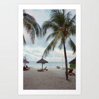 Sunrise in Mauritius II Art Print