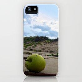 Apple in the Beach iPhone Case
