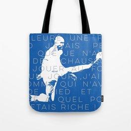Zinedine Zidane Tote Bag