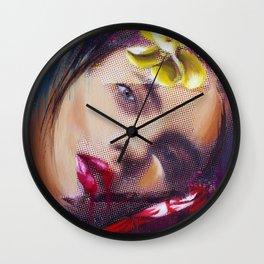 Evidencias de una imagen II Wall Clock