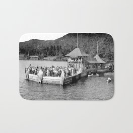 Waiting at Silver Bay (1906) Bath Mat