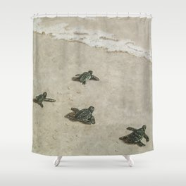 The Journey Begins by Teresa Thompson Shower Curtain