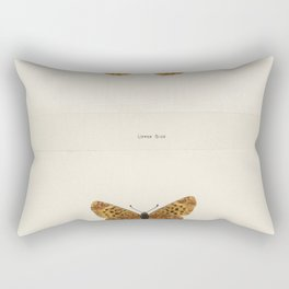 Sleepy Orange (Terias Nicippe) from Moths and butterflies of the United States (1900) by Sherman F D Rectangular Pillow
