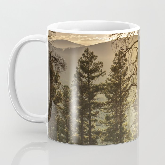 Mountain Forest New Mexico - Nature Photography Coffee Mug