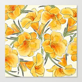 the daylily Canvas Print