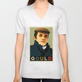 Glenn Gould Unisex V-Neck