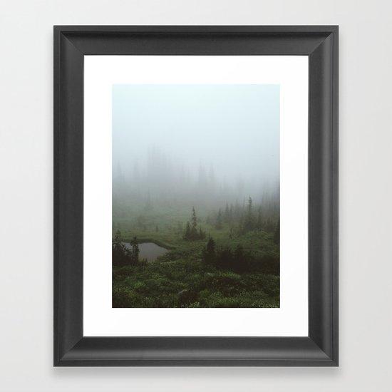 Fogland Framed Art Print