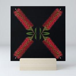 Botanical Kaleidoscope 3 Mini Art Print