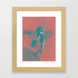nostalgique Framed Art Print