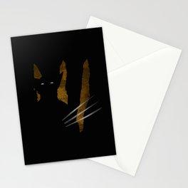 SuperHeroes Shadows : Wolverine Stationery Cards