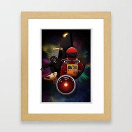 2001: A Space Odyssey T-Shirt Framed Art Print