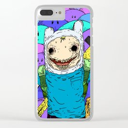 Unacceptable Clear iPhone Case