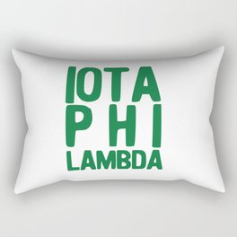 Iota Phi Lambda II Rectangular Pillow