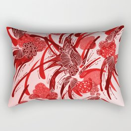 Abstract berries in colour  Rectangular Pillow