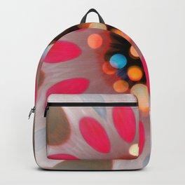 Bubble Gum Bright Colors Flower Desig Backpack