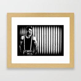 Suspenders Framed Art Print