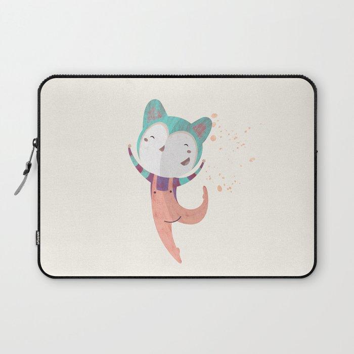 Dance Dreams (Cream) Laptop Sleeve