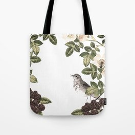 Blackberry Patch Tote Bag