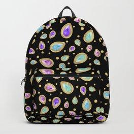 Colored diamonds (black) Backpack