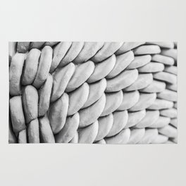 Clay-moulded Structures Rug